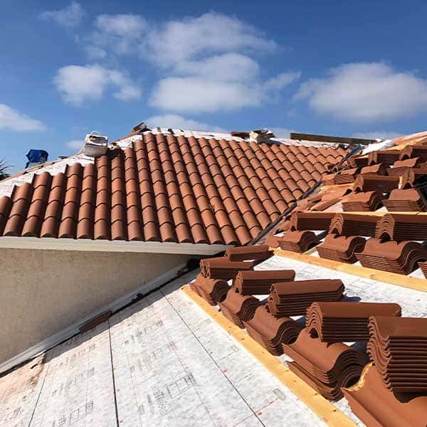 Tile Roofing Project