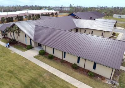 Standing Seam Metal Roof - Central Baptist Church