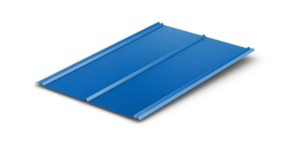 Metal Roof Double Rib Panel