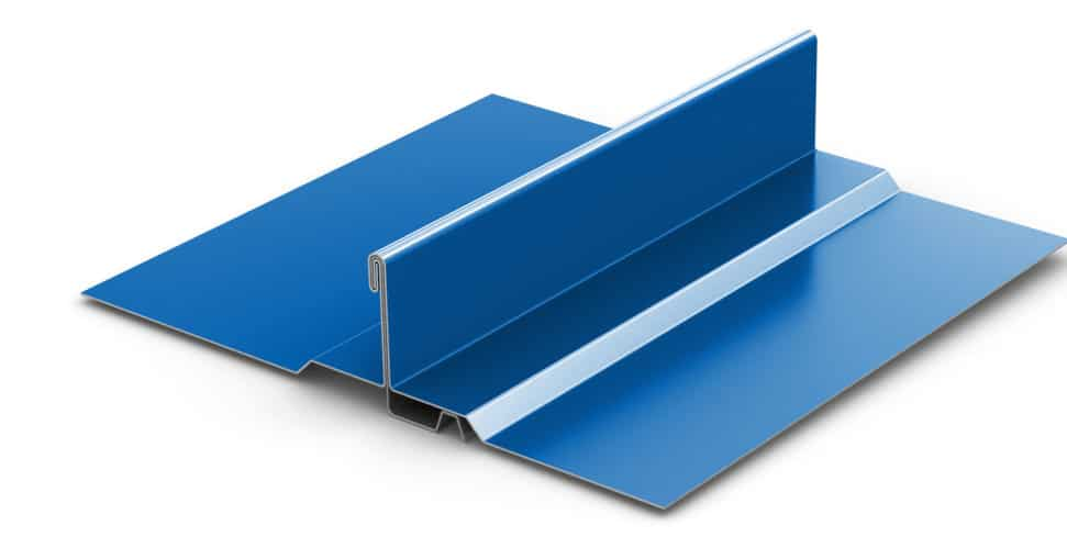 Standing Seam Metal Roof Double-Lock Zee-Lock Panel