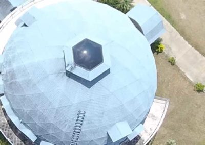 Geodesic Dome Roof Repair