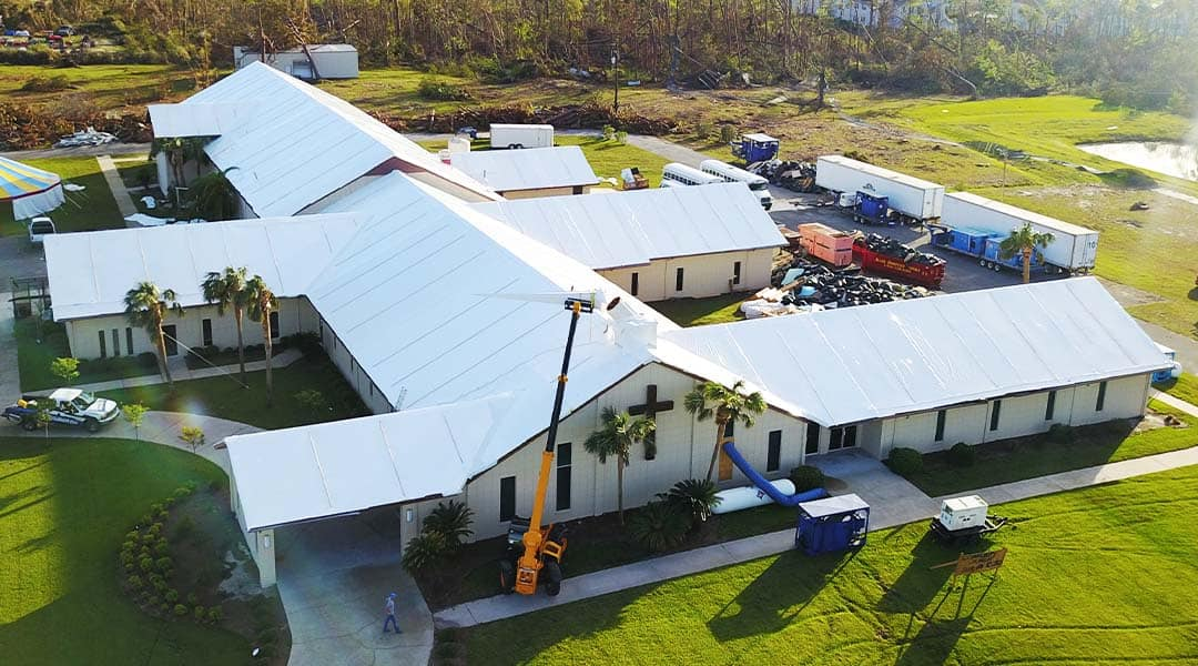 Hurricane Shrink Wrap Roofing