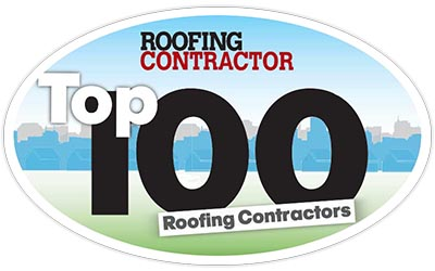 Top 100 Roofing Contractor Logo