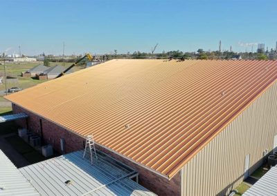 Church Metal Roof Installation
